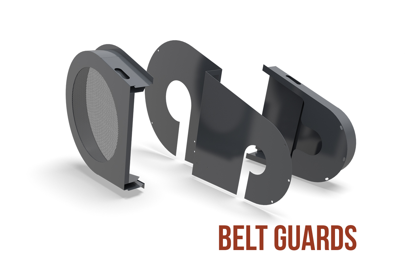 belt guards Anthem® Inclined Screen by Superior Industries