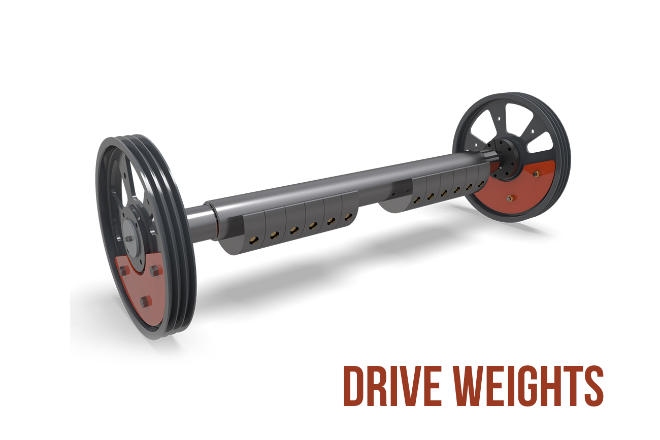 drive weights Anthem® Inclined Screen by Superior Industries
