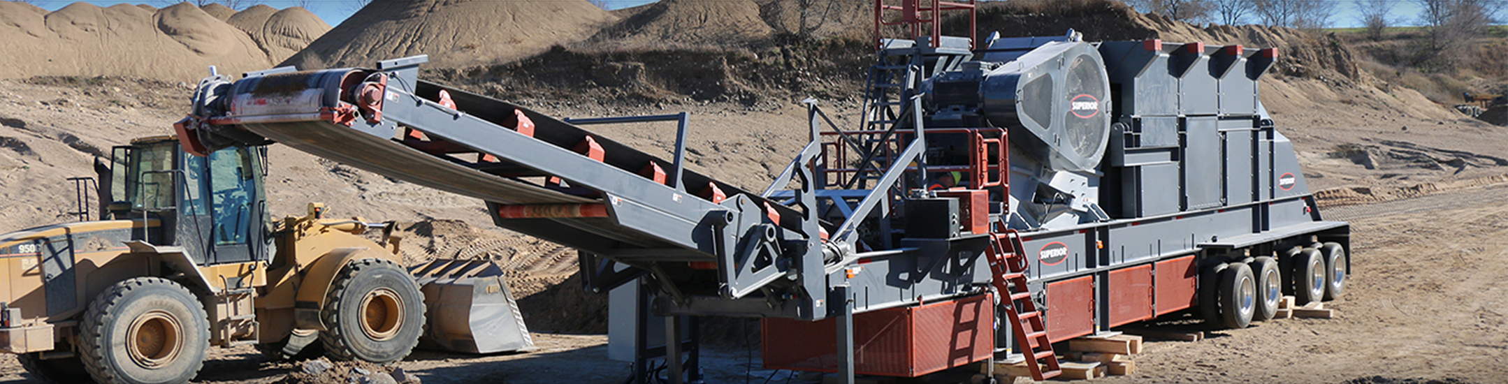 Liberty® Jaw Crusher Plant by Superior Industries