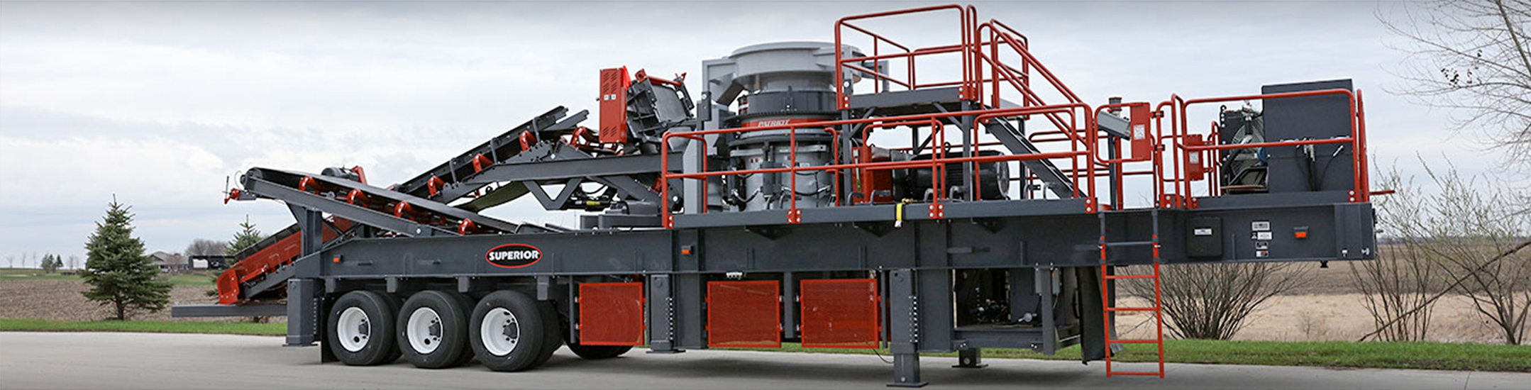 Patriot® Cone Crusher Plant by Superior Industries
