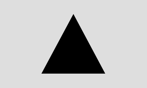 a black triangle