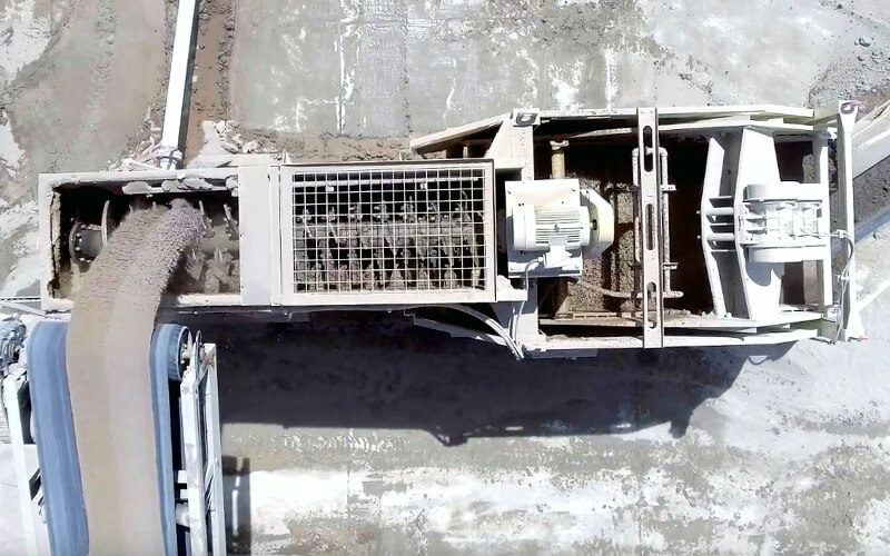 Liberty® Jaw Crusher - aggressive nip angle advantage