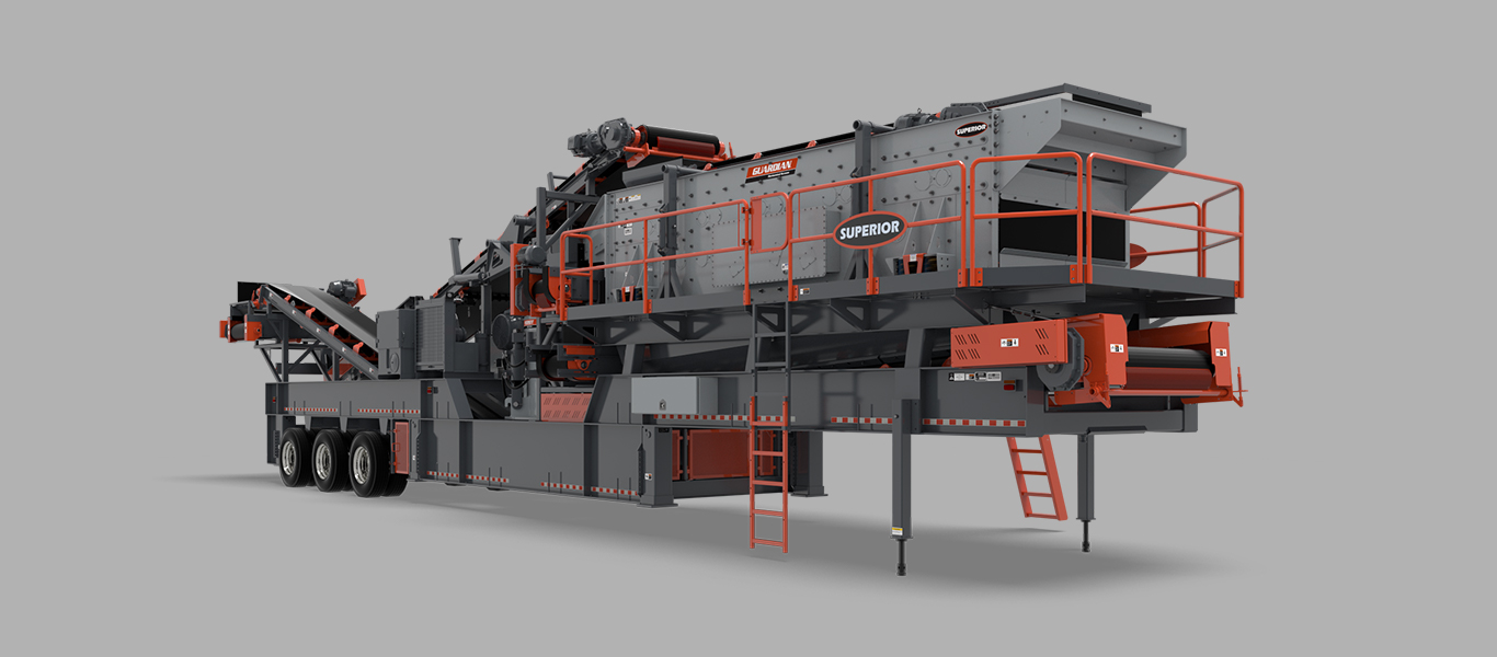 Superior Industries P300 Closed Circuit Plant