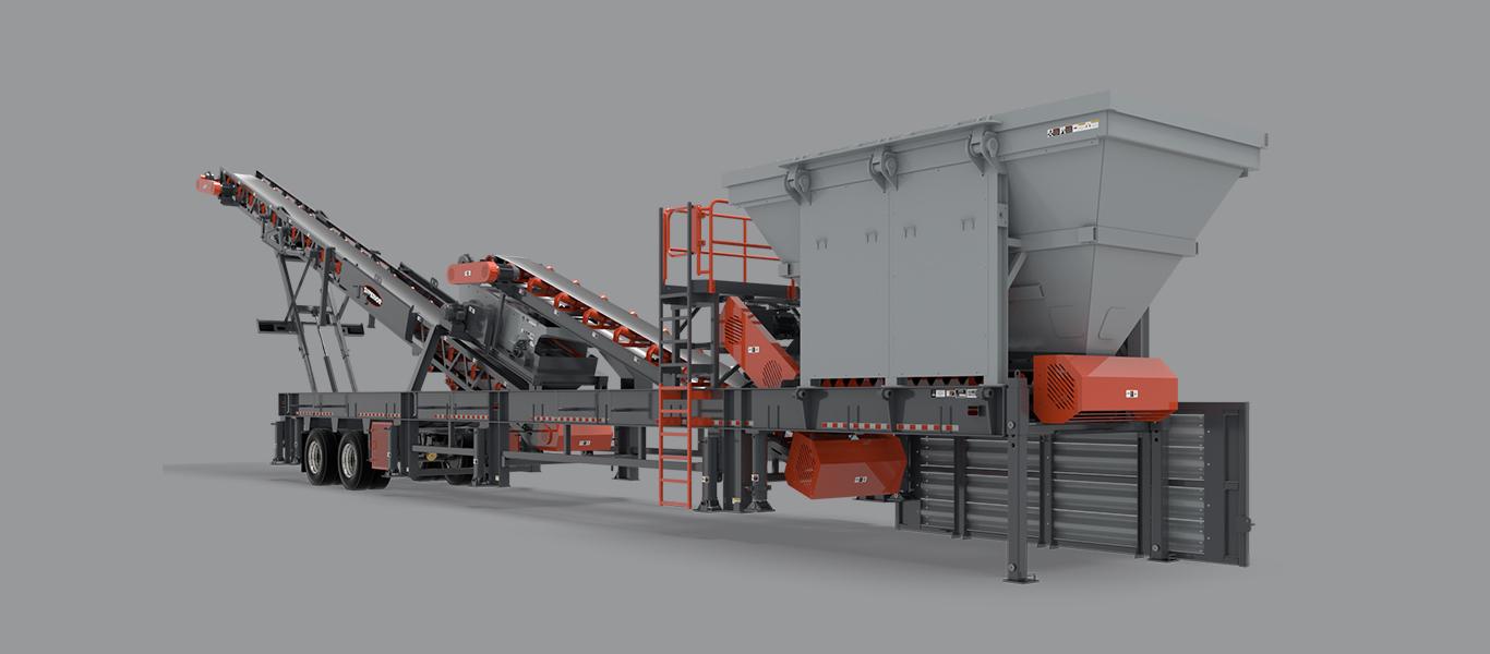 Superior Industries Portable RAP Plant