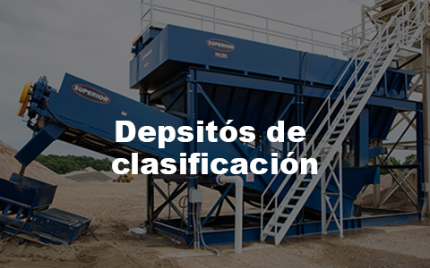 We offer a state of the art Classifying Tank fitted with user-friendly computer controls
