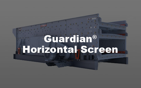 Superior's patent-pending Guardian Horizontal Screen is a triple shaft horizontal screen.