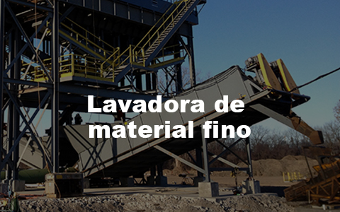 Washes, classifies, and dewaters aggregate material.
