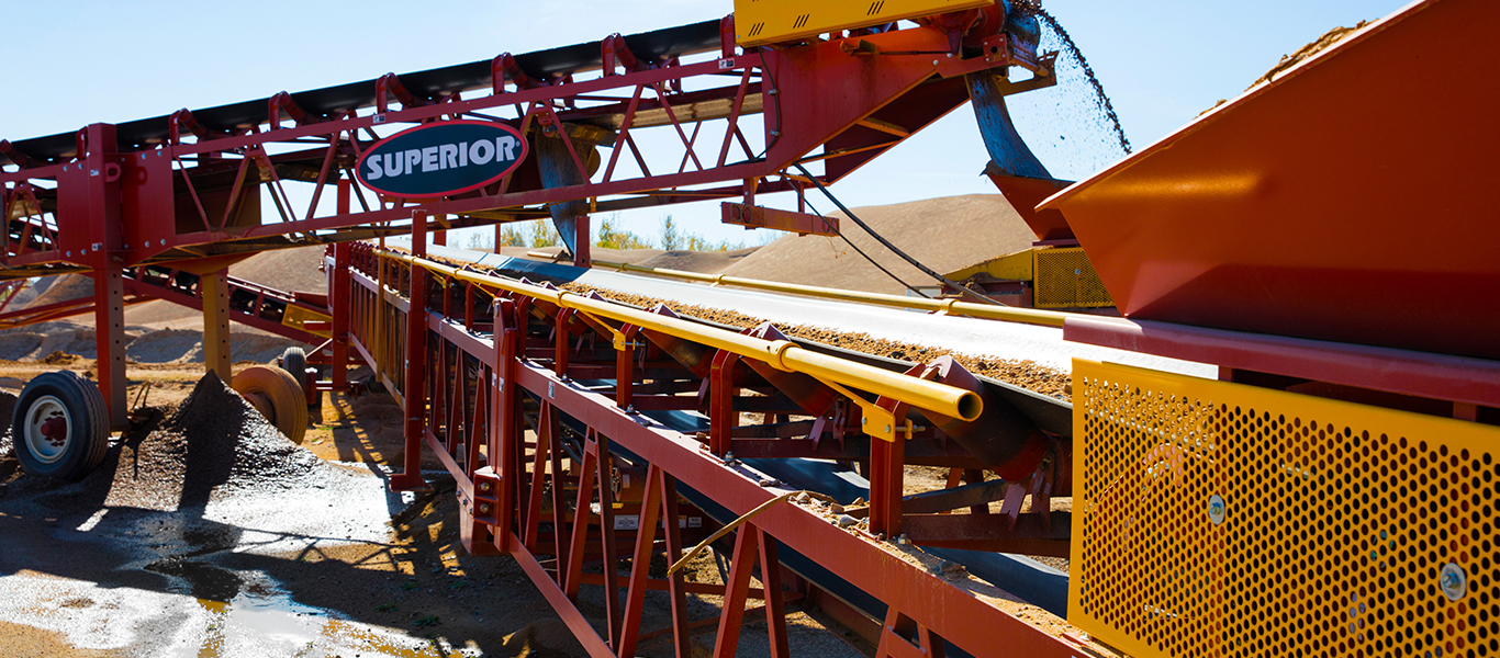 Superior Conveyor Safety Handrail