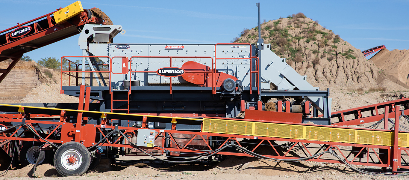 Glenwood Pit is the source of rock product for the company's concrete production.
