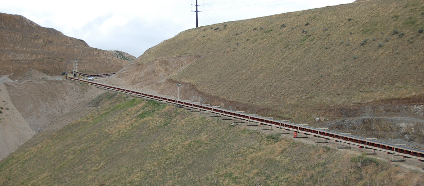 We are the first and only manufacturer to build a 500 foot overland conveyor that folds up to 84 feet.