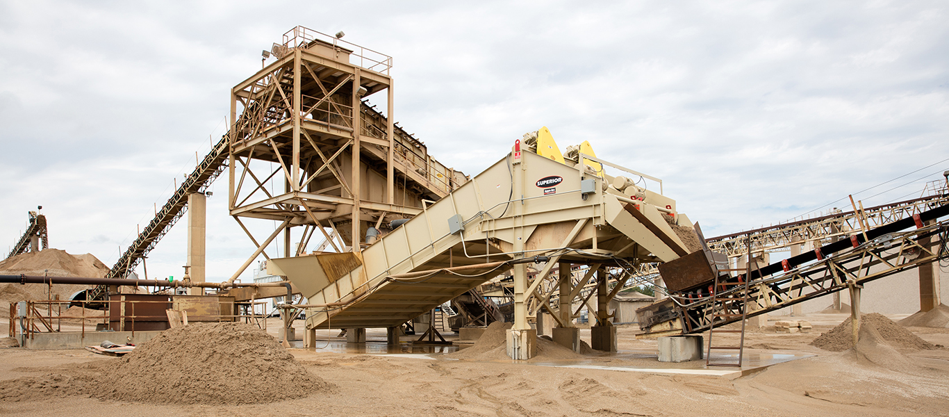 A new sand washing solution supports sustainable processing.