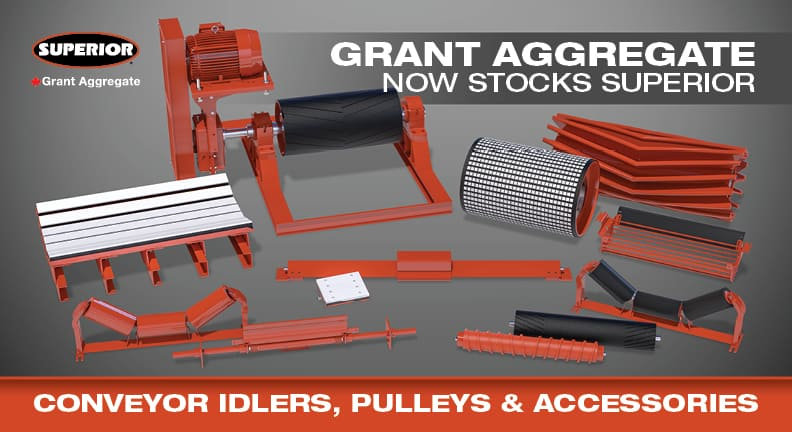 Superior Industries announces new components distributor, Grant Aggregates