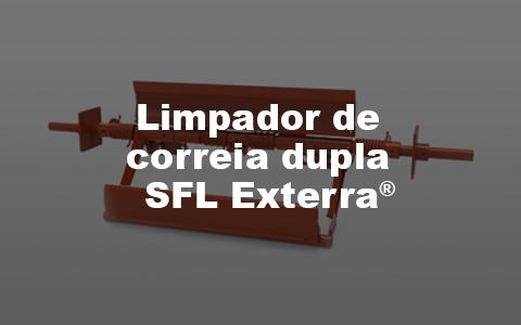 Limpador de correia dupla SFL Exterra