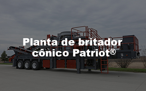 planta de britador conico Patriot