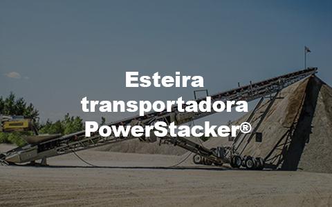 Esteira transportadora PowerStacker