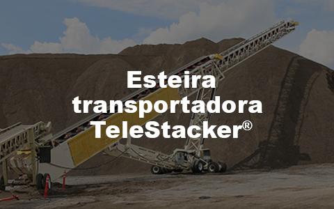 esteira transportadora Telestacker