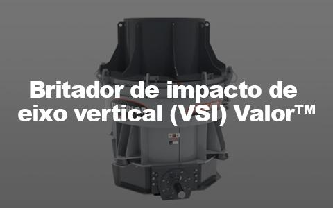 britador de impacto de eixo vertical VSI Valor