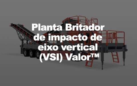 planta britador de impacto de eixo vertical vsi Valor
