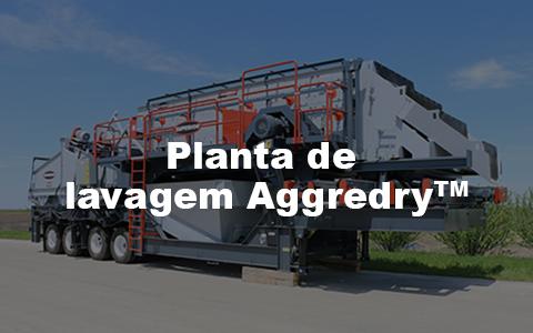 Planta de lavagem Aggredry