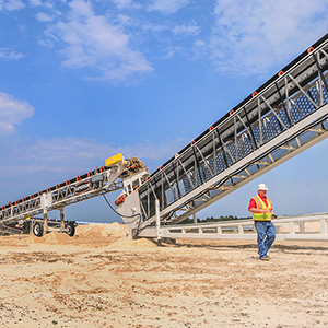 superior conveyor truss jump conveyor