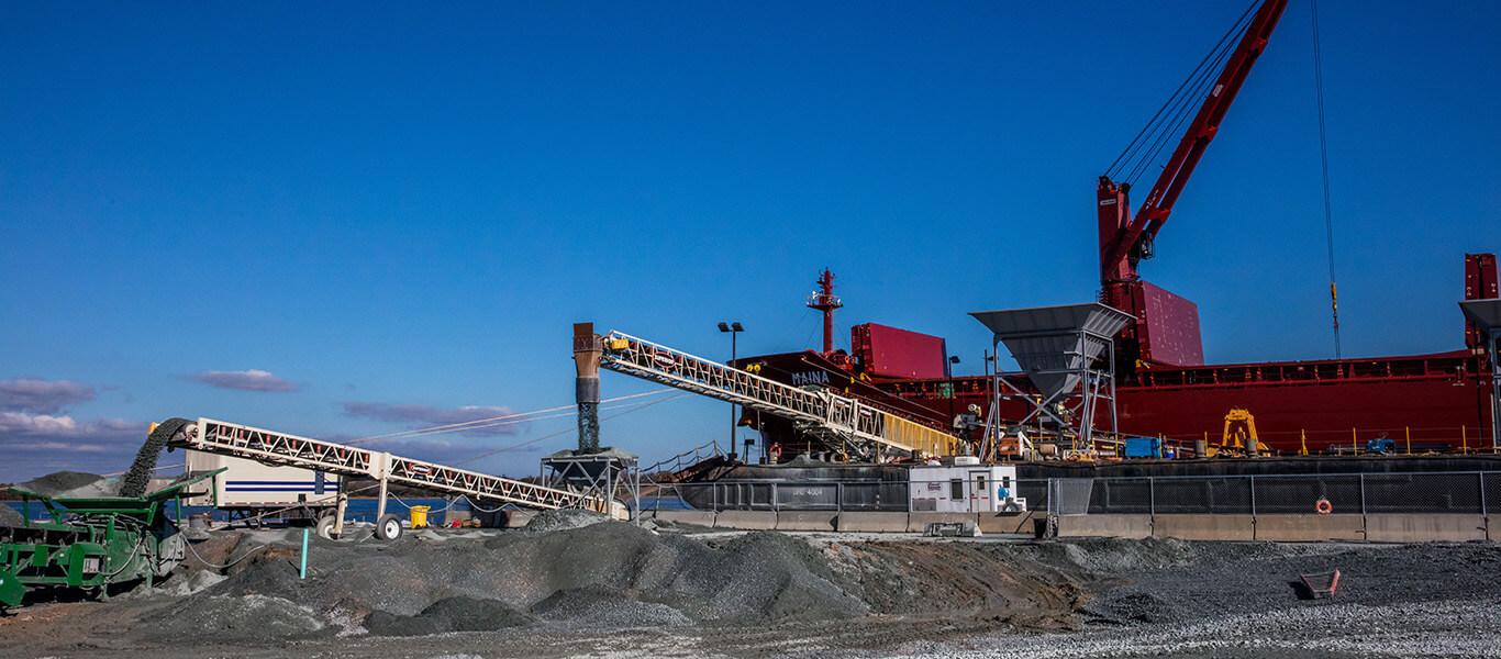 Carver Construction's operation at South Carolina Ports Authority.