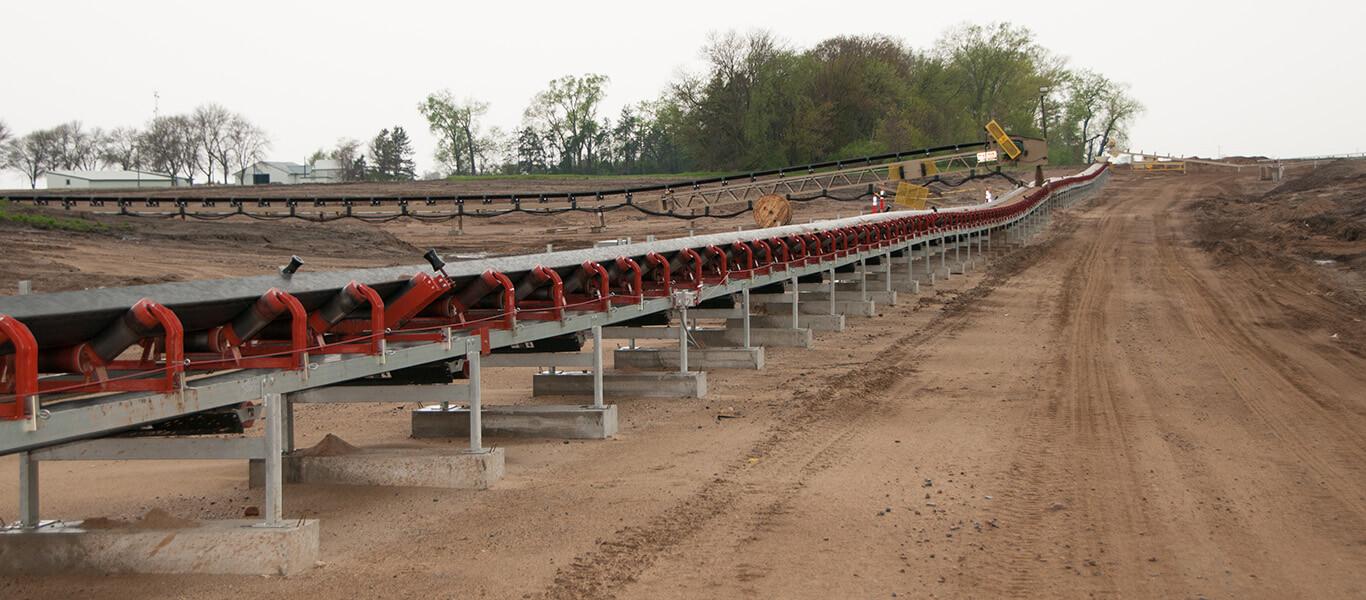 Zipline Conveyor engineered by Superior Industries.