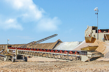 grasshopper conveyor in heap leach application