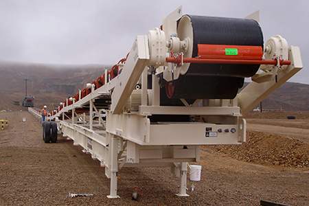 Trailblazer® Conveyor at Newmont Mining Corporation's Phoenix mine.