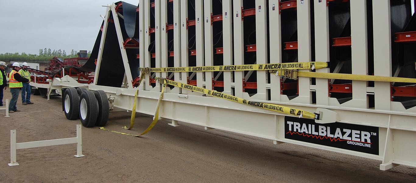 setting up the Trailblazer® Conveyor