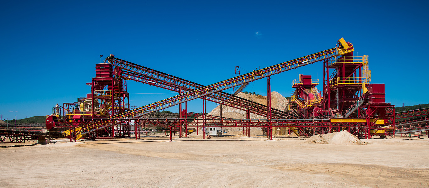 Superior Industries products at Kraemer Mining and Materials