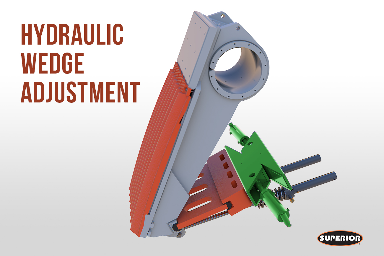 Liberty® Jaw Crusher - hydraulic wedge adjustment - Superior Industries