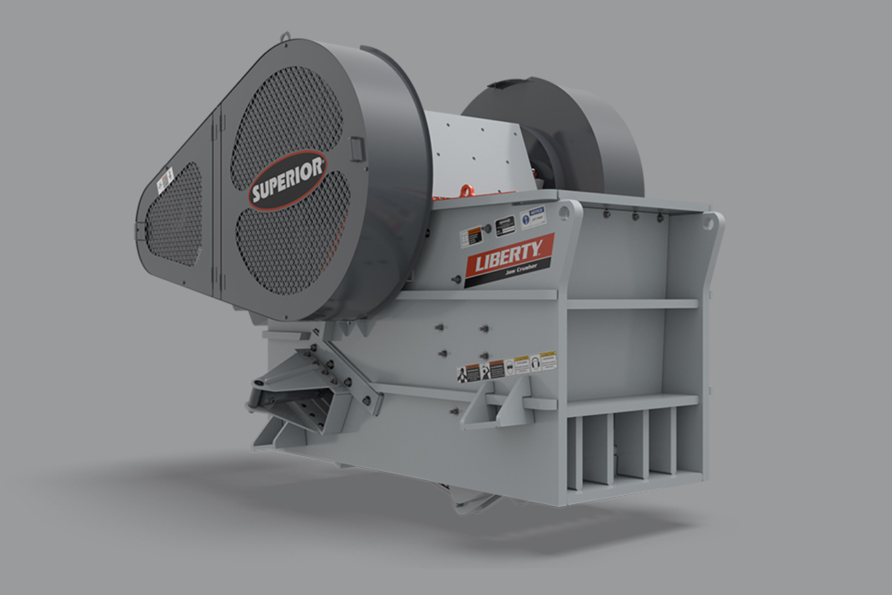 Liberty® Jaw Crusher - spec Superior Industries
