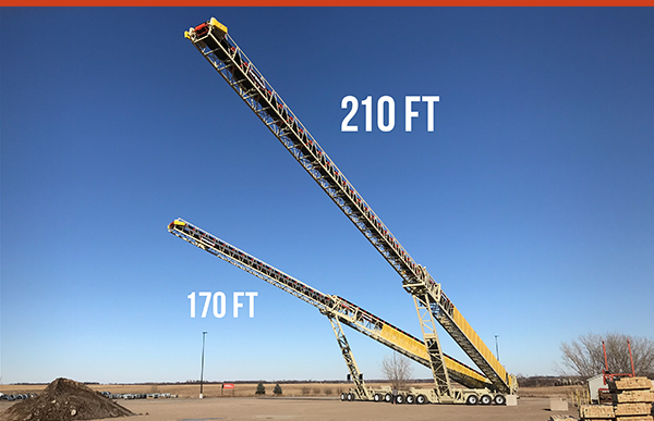 210ft Telestacker® Conveyor by Superior Industries