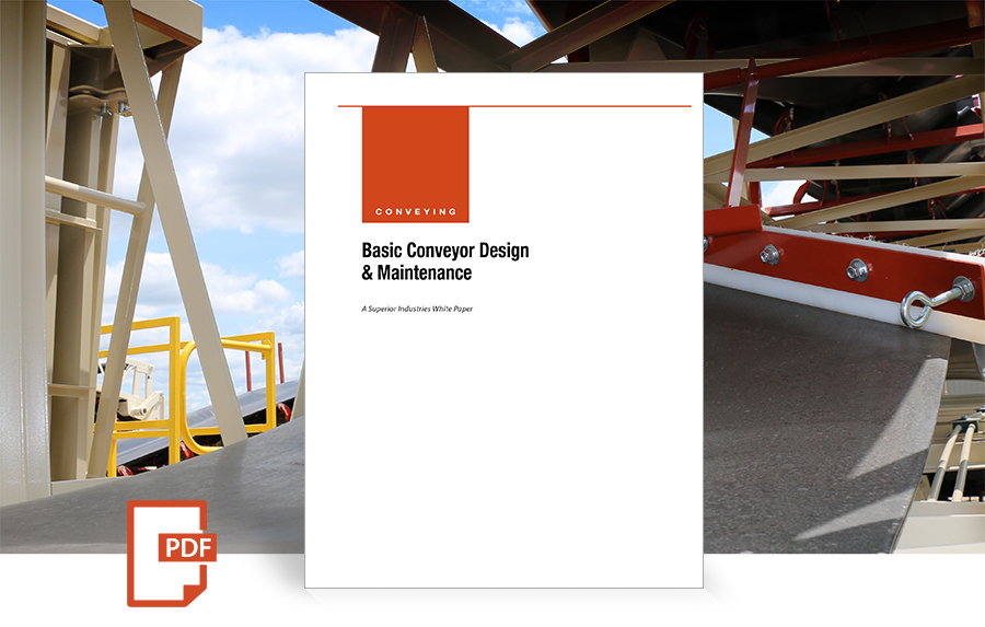 cover 1009 Basic Conveyor Design by Superior Industries