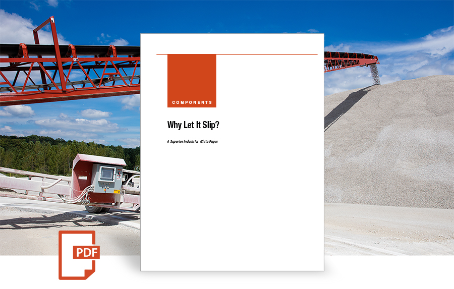 Belt Slippage: Why Let It Slip? white paper by Superior Industries