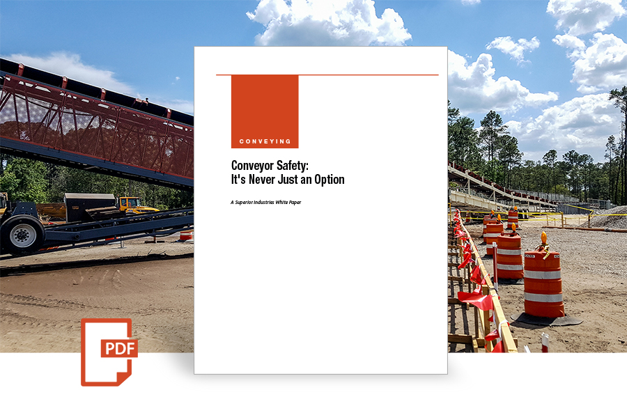 Conveyor Safety white paper by Superior Industries