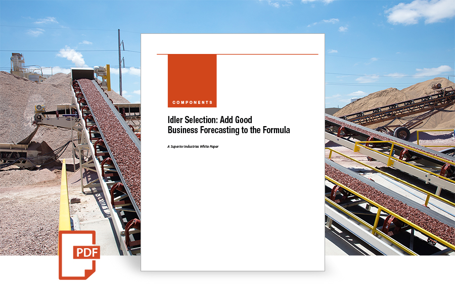Idler Selection: Add Good Business Forecasting to the Formula white paper by superior industries
