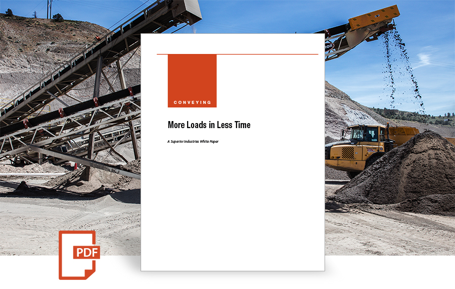 More Loads in Less Time white paper by superior industries