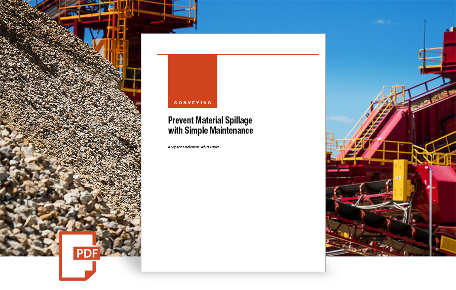 Prevent Material Spillage with Simple Maintenance white paper by superior industries