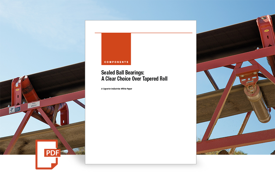 Sealed Ball Bearings: A Clear Choice Over Tapered Roll, white paper by superior industries