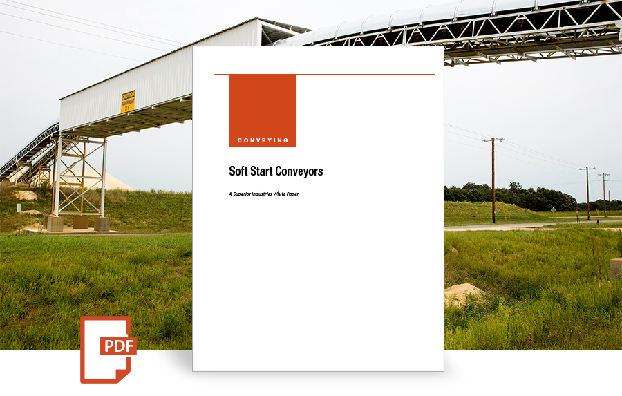 Soft Start Conveyors, white paper by superior industries