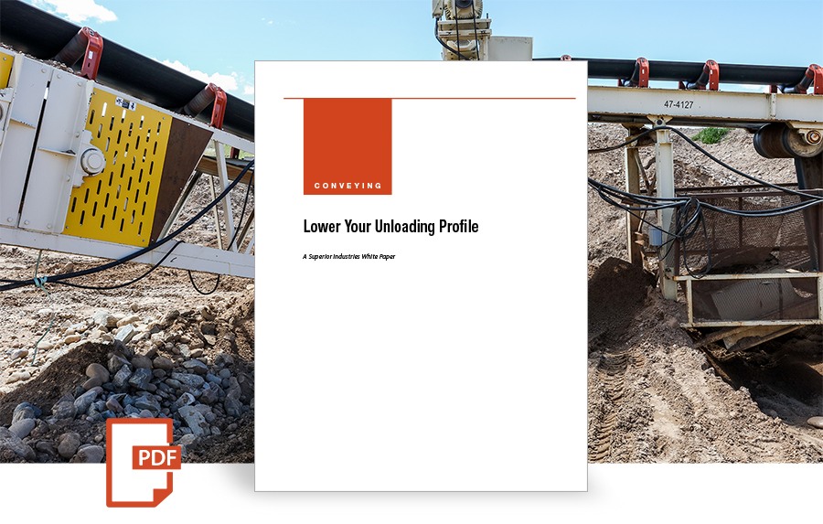 Unloading Trucks: Lower Your Unloading Profile, white paper by superior industries