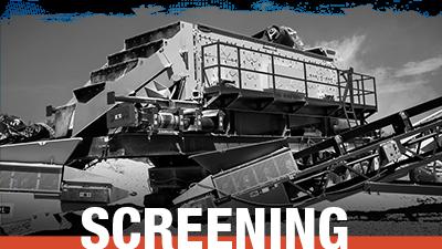 Screening Equipment - Stock Inventory