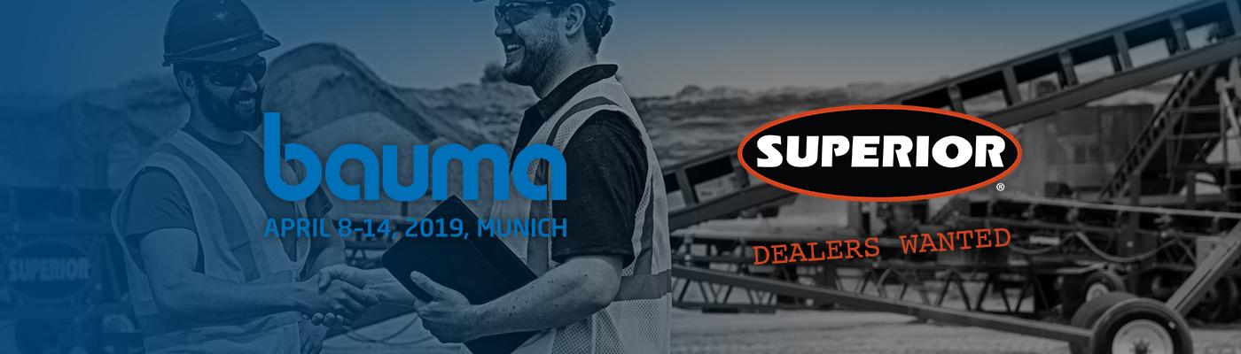 Superior Industries attends bauma 2019