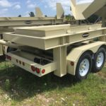 Superior Chassis for 4 x 8 Dewatering Screen