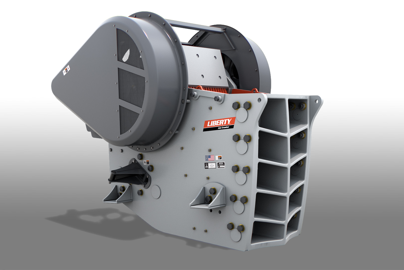 Liberty Jaw Crusher bolted frame 34x44 by Superior Industries