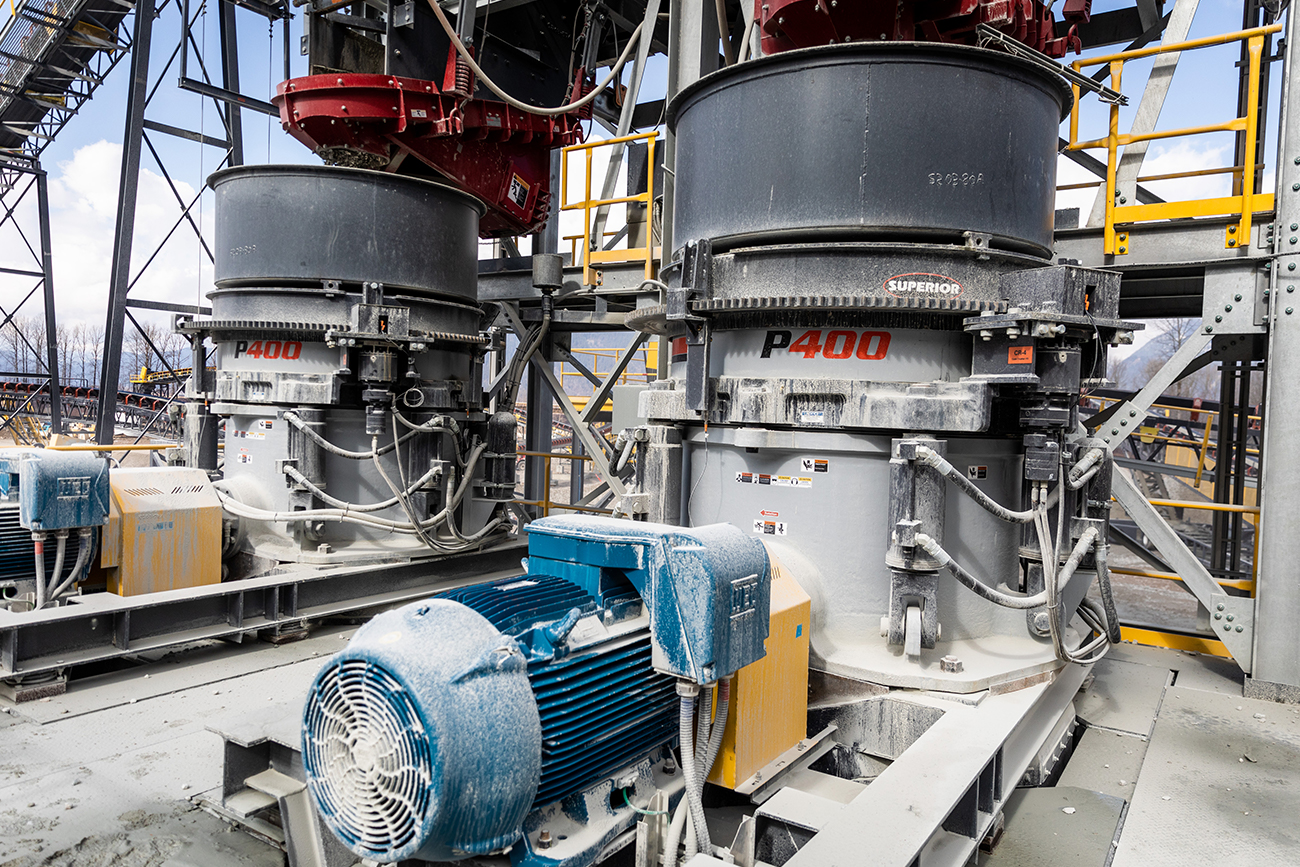 Patriot® Cone Crusher by Superior Industries