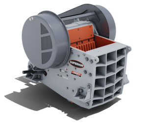 Liberty® Jaw Crusher _3055B_Bolted Frame_no orange by Superior Industries