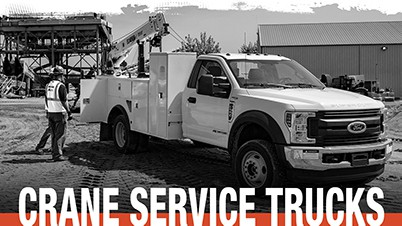 Crane Service Trucks - Stock Inventory