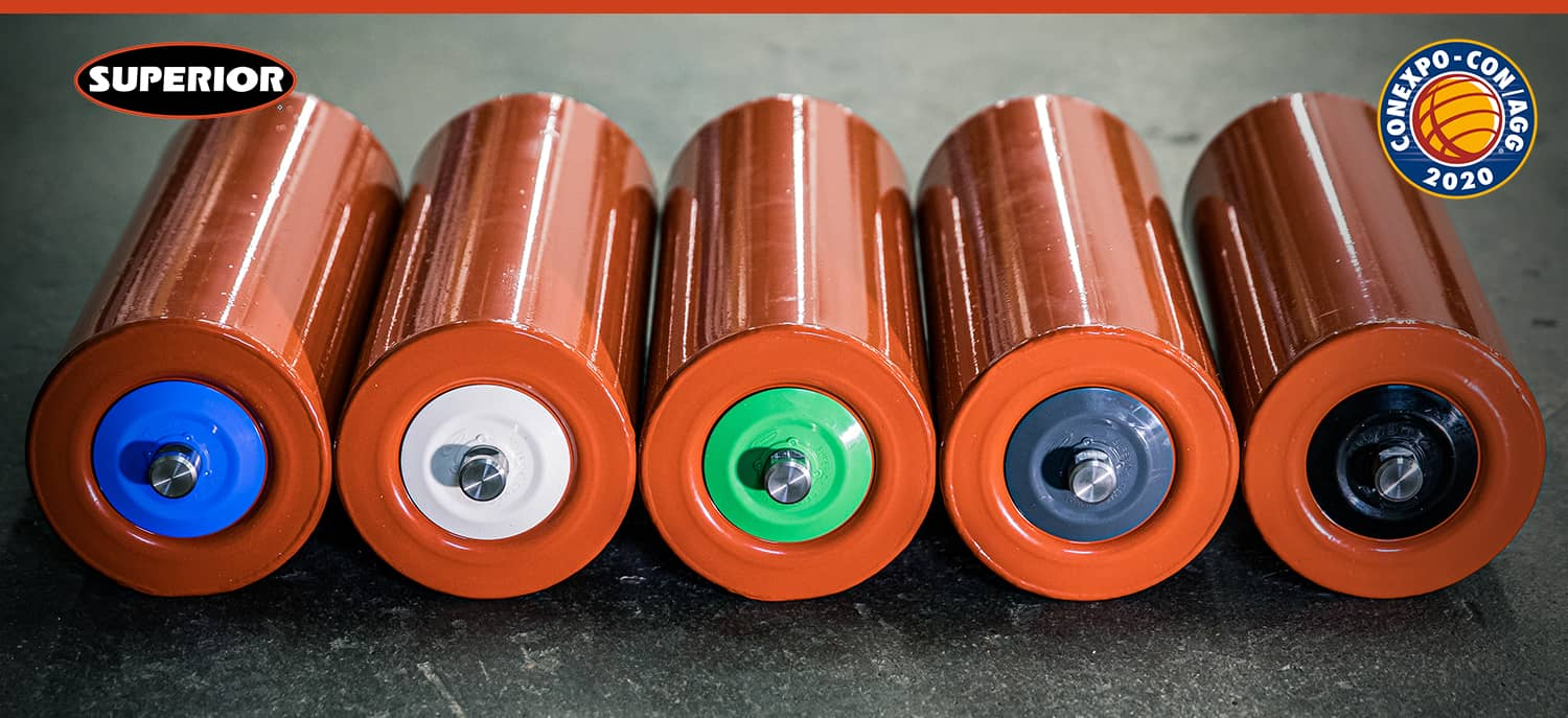 application specific idler seals colors by Superior Industries
